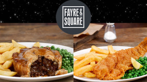 Buy 1 Get 1 Free on Mains at Fayre & Square