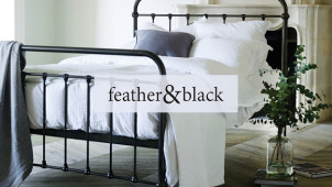 Up to 50% Off Sale plus £80 Gift Card with Orders Over £500 at Feather & Black