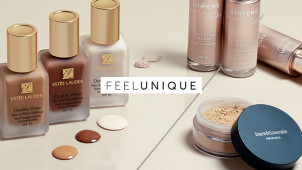 Free Beauty Bag with Orders Over £125 at Feelunique