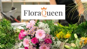 Jusqu'à -50% de remise sur vos bouquets FloraQueen