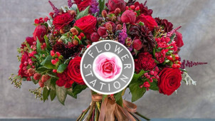 Free Delivery on Orders at Flower Station