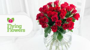 12% Off Orders at Flying Flowers