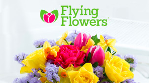 25% Off Orders Plus Free Delivery at Flying Flowers