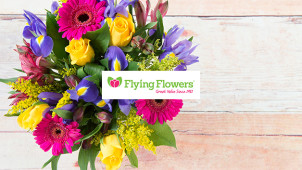30% Off Selected Bouquets Plus Free Delivery at Flying Flowers