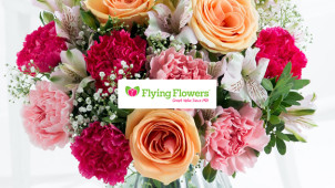 Free Delivery on Orders at Flying Flowers