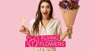 Get 15% Off Orders at Flying Flowers