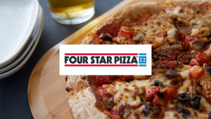The Americana Pizza from €8 at Four Star Pizza