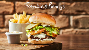 25% Off Mains at Frankie & Benny's