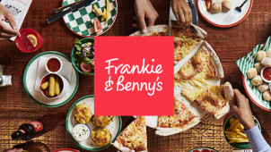 33% Off Mains at Frankie & Benny's
