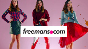15% Off Orders Over £80 at Freemans