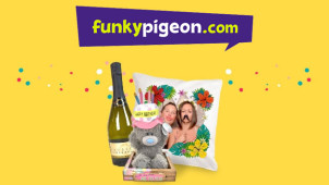 20% Off First Orders at Funky Pigeon