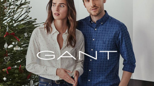 10% Off First Orders with Newsletter Sign-Ups Plus Free Delivery this Black Friday at GANT
