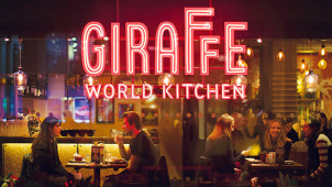 2 for 1 on Starters, Mains and Desserts at Giraffe World Kitchen
