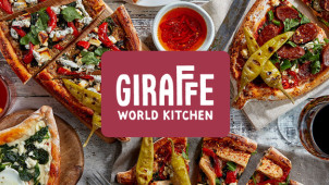 2 for 1 on All Courses at Giraffe World Kitchen