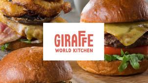 Kids Eat Free at Giraffe World Kitchen