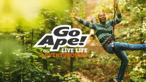 Up to £5 Off Per Person on Advanced Bookings at Go Ape!