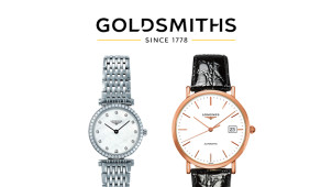 Get 15% Off Full Price Longines at Goldsmiths