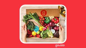 60% Off First Box Orders at Gousto