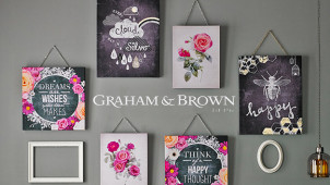 10% Off First Orders at Graham and Brown