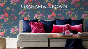 £10 Off Orders Over £50 at Graham and Brown Wallpaper