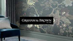 £10 Gift Card with Orders Over £100 at Graham and Brown Wallpaper