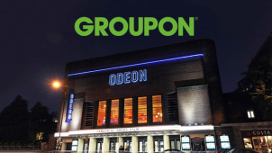 Two ODEON Cinema Tickets for £10 or Five Tickets for £20 at Groupon