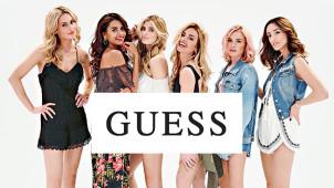 Enjoy 60% off Womenswear in the Guess Sale