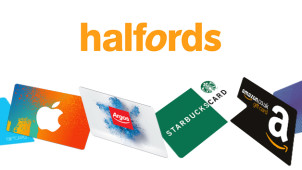£5 Gift Card with Orders Over £150 at Halfords