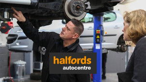 10% Off Car Servicing Bookings at Halfords Autocentre