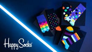 30% Rabatt im Black Friday Sale + GRATIS Versand bei Happy Socks