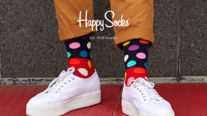 Sign Up to the Newsletter and Save 10% Off at Happy Socks