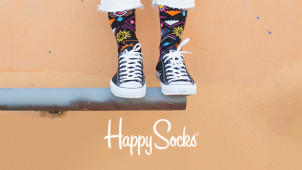 Profiteer van 30% Korting + Gratis Verzending in de Winter Sale bij Happy Socks