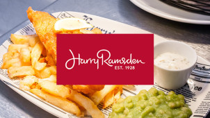 30% Off Mains at Harry Ramsden's Restaurant