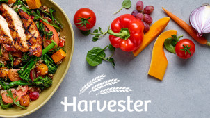33% Off Mains with the Early Bird Menu at Harvester