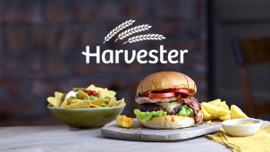 Now Booking Tables at Harvester