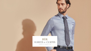Save 25% or More on Your Shop at Hawes & Curtis