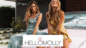 Sign Up to the Newsletter and Get 10% Discount at Hello Molly