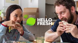Hole dir einen 50 EUR Gutschein auf 4 Boxen + Gratis Versand bei HelloFresh