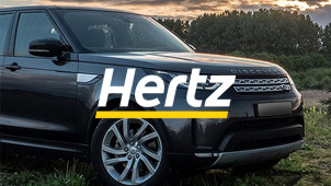 Book Weekend Hires and Get 20% Off Base Rates at Hertz!