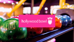 1 Game, Burger or Hot-dog & Drink from £10 Per Person at Hollywood Bowl