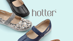 20% Off Orders Plus Free Shipping at Hotter Shoes