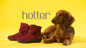 £25 Off Orders Over £80 at Hotter Shoes