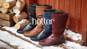 Save up to 50% in the Sale at Hotter Shoes