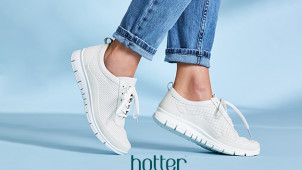 20% Off Orders Over £30 at Hotter Shoes