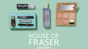 £10 Off Beauty Orders Over £50 in the Beauty Event at House of Fraser