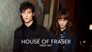 40% Off in the Black Friday Sale at House of Fraser