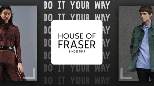 Up to 60% Off Menswear, Womenswear, Kidwear and Home in the End of Season Sale at House of Fraser