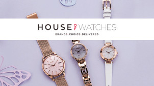 10% Off Orders Over £100 at House of Watches