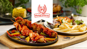 2 Selected Pub Dishes for £9.99 Mon – Fri at Hungry Horse