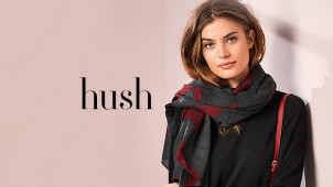 Free UK Standard Delivery and Returns on Orders at Hush